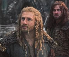 """""""Fili and Kili in BOTFA. FINALLY Fili gets a little attention!"""" *Faints* Can it be? Can it be that Fili is actually the prominent character on the screen for once?"""