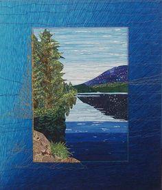Landscape Quilts by Bobbie Sullivan, Quilt Artist, Scituate, MA