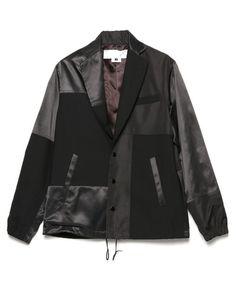 GANRYU(ガンリュウ)のジャケット(テーラードジャケット)|ブラック