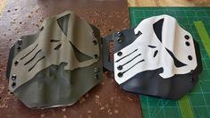 Punisher kydex holsters for Glock 35 w/ Surefire X300U