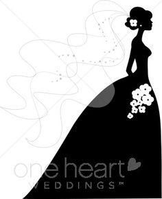wedding+silhouette++images+free | bride silhouette clip art pic 10 www weddingclipart com 20 kb 315 x ...