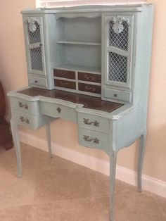 This would look fabulous in the Dreamhouse. Etsy listing at http://www.etsy.com/listing/159168125/sold-unique-vintage-french-provincial