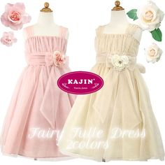 Girls Fairy Motif Tulle Dress    Now at $96 with FREE International Shipping.    #girls, #formal, #dress, #party, #wedding, #fairy, #tale, #dresses, #mauve, #champagne, #kids