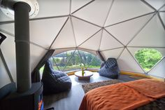 Glamping Domes - Loch Tay Highland Lodges - Perthshire