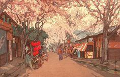 【アニメで見たい】明治・大正・昭和に「浮世絵を蘇らせた」吉田博の版画が、いまでもカワイイ