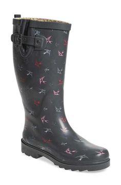Chooka 'Spirited Sparrows' Rain Boot (Women)