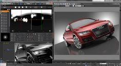 Rendering Engine, Studio Living, 3d Tutorial, 3ds Max, Hdr, Live, Tutorials, Lighting, Lights