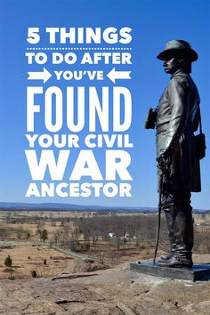 After you find your Civil War ancestor, learn even more with five of my favorite digging deeper steps. I think you'll be amazed at what you can learn.