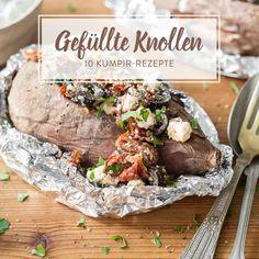 Gefüllt mit Fleisch, Gemüse, Salat und Soßen, werden deine Ofenkartoffeln zu türkischen Kumpir. Hier gibt's 10 leckere Füllungen für deine Knollen.