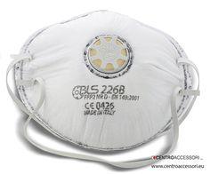 Maschera FFP2 carboni attivi BLS 226. Mask FFP2 activated carbon BLS 226. #CentroAccessori
