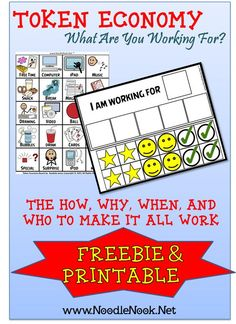 Awesome Behavior Management tool for LIFE skills teachers, especially those who work with students with Autism.