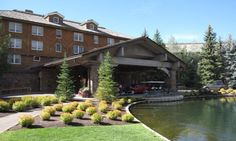 Sun Valley Lodge main entrance