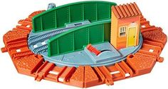 Fisher-Price TrackMaster Tidmouth Turntable Expansion Pack (8 Piece) #FisherPrice