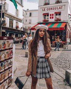 Paris hochgeladen von auf We Heart It - style - Winter Mode France Outfits, Paris Outfits, Spring Outfits, Fashion Outfits, Paris Spring Outfit, Europe Outfits Summer, Italy Outfits, Outfit Summer, Paris Chic