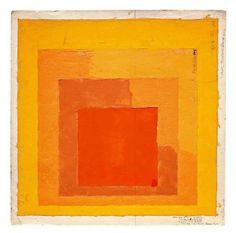 via Marianne @lrnbo - pinned to 'Yellow' board - Josef Albers