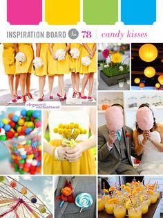 Inspiration Board #78: Candy Kisses | Elegance  Enchantment