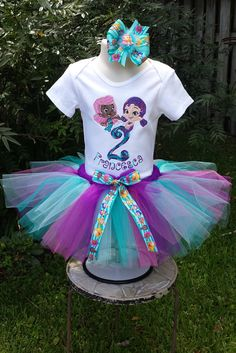 Hey, I found this really awesome Etsy listing at https://www.etsy.com/listing/232710329/bubble-guppies-tutu-set-with-tutu