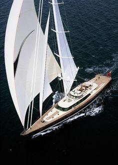 Alloy Yachts Tiara Superyacht: Like a buoyant ballerina. Stunning...