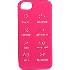 Kate Spade New York Emoticons Resin Phone Case for iPhone® 5