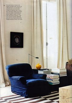 the Antwerp home of Belgian architect Vincent Van Duysen | from the book Interiors by Martyn Thompson