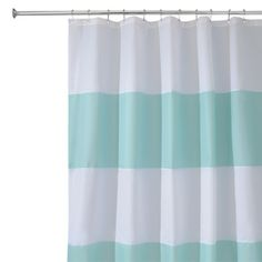 InterDesign Zeno Shower Curtain - Blue/White (72x72) *$21.99 at Target (online only) I can use my discount!