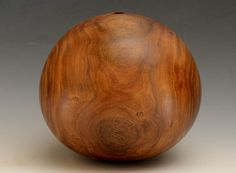 Gordon Browning wood turned vessels