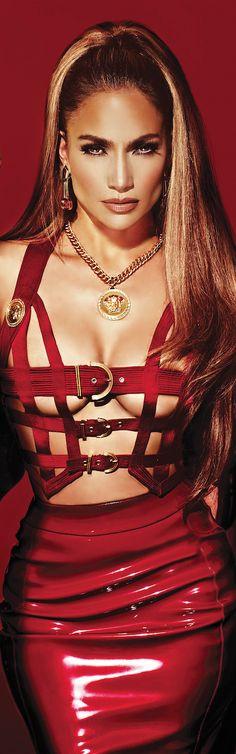 Jennifer Lopez Wearing Vintage Versace For Her New Album Cover - lookandlovewithlolo - ShazB