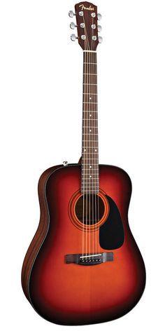 Fender Sunburst CD-60 Acoustic Guitar