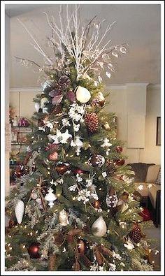 Country Christmas Tree Idea