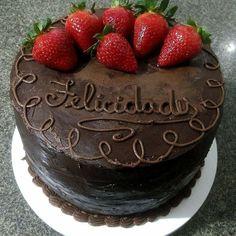 Cake, Desserts, Food, Bolo De Chocolate, Tailgate Desserts, Deserts, Kuchen, Essen, Postres