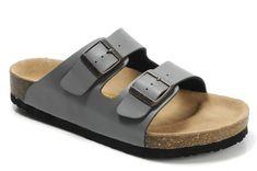 Women's Birkenstock Arizona Sandals Dark Grey