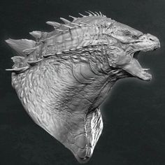 Godzilla ZBrush Creature Design and Conceptual Illustrations by Weta Workshop