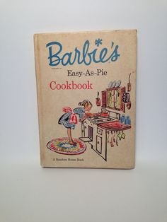 Vintage Barbie's Cookbook 1964 by MapleVintage on Etsy, $38.00