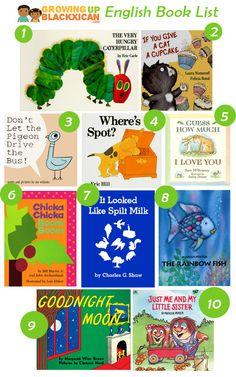 10 favorite english books for kids