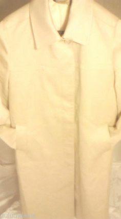 Vintage London Fog Coat Women's Size 14 P 1950s Beige Khaki #LondonFog #BasicCoat