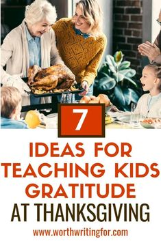 Inspiring Gratitude in Your Kids this Thanksgiving