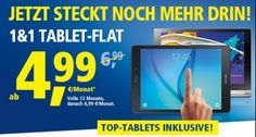 Jetzt zum günstigen Tablet-Tarif wechseln