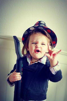#enfant #fille #musique #music #rock #children #kid #bébé #baby