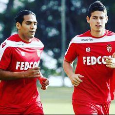 Falcao & James in Monaco