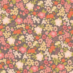 Wrapping Paper - Stormy Bouquet