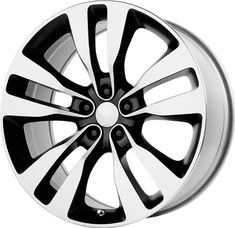 """Wheel Replicas V1167 Dodge Charger SRT8 Machined Face and Lip/Black Window (22x9""""/5x115mm)   $ 204.29 #TireWheelCare"""