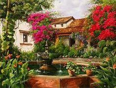 Resultado de imagen para paisajes de guatemala en pintura