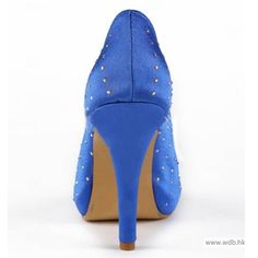"wedding pictures Graceful 4.5"" Rhinestones Peep-toe Pumps - Party shoes (11 colors) $68.98"