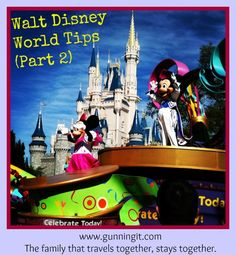 Gunning It: Walt Disney World Tips, Part II