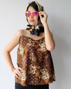 Brownie pattern batik shirt only Rp175.000 for further information can find us on ig; batikdywa