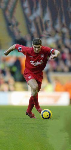 Steven Gerrard Liverpool, Liverpool Fc, Liverpool Legends, Liverpool Football Club, Chelsea Fc, Tottenham Hotspur, Stevie G, Liverpool Wallpapers, This Is Anfield