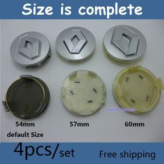 Find More Emblems Information about Good quality 40pcs Renault Wheel Hub Cap Emblem 54mm 57mm 60mm Koleos Logan Fluence Duster Megane Scenic Renault Center Cap,High Quality cap goods,China cap press Suppliers, Cheap cap military from Wheel hub cover manufacturer on Aliexpress.com