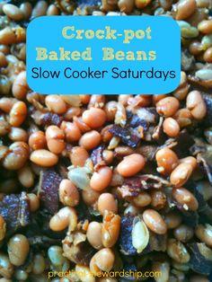 Crock-pot Baked Beans Recipe