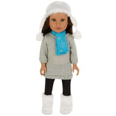"Journey Girls 18 inch Doll Kyla (Silver Sweater) - Toys R Us - Toys ""R"" Us"