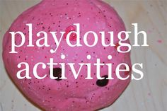 Homemade Playdough Recipe PLUS so many creative ideas for using playdough with your children!  Pin this site for activities, recipes and literature recommendations designed by an early childhood educator and mother of three.  www.homegrownfriends.com